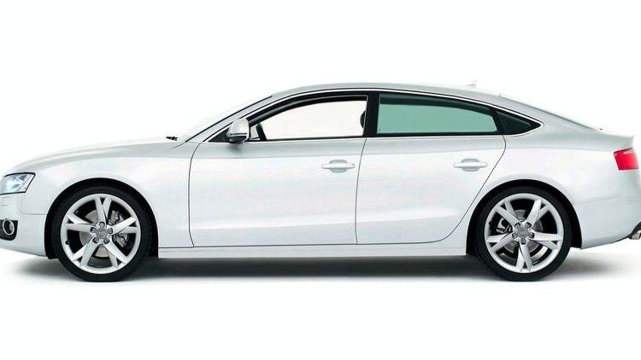 Audi A5 Sportback leaked photo