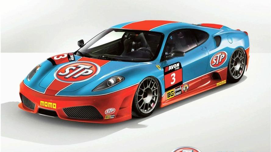 Classic STP Livery Adorns Ferrari 430 Scuderia GT3