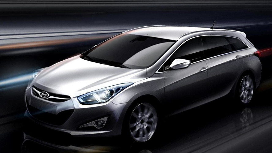 Hyundai i40W previewed ahead of Geneva debut