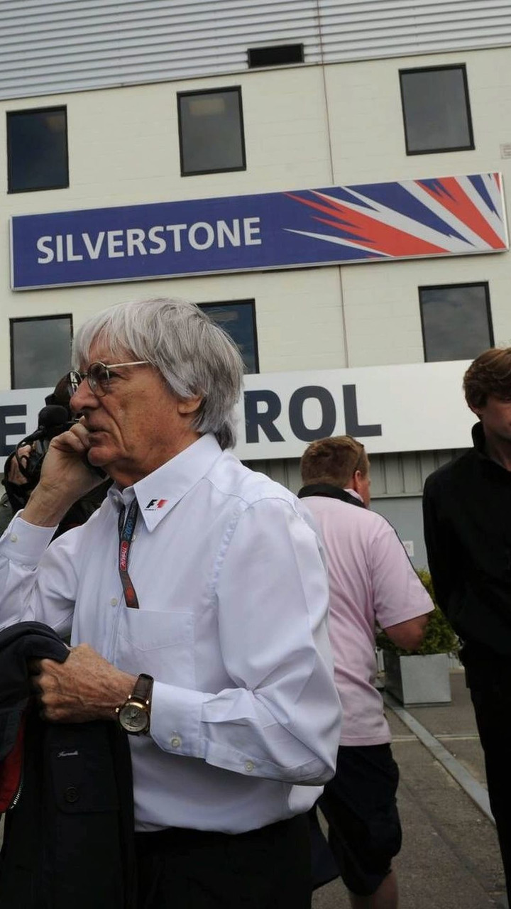 Bernie Ecclestone (GBR), President and CEO of Formula One Management, British Grand Prix, Sunday, 21.06.2009 Silverstone, England