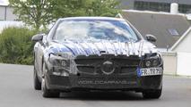 2012 Mercedes Benz SL 63 AMG spy photo