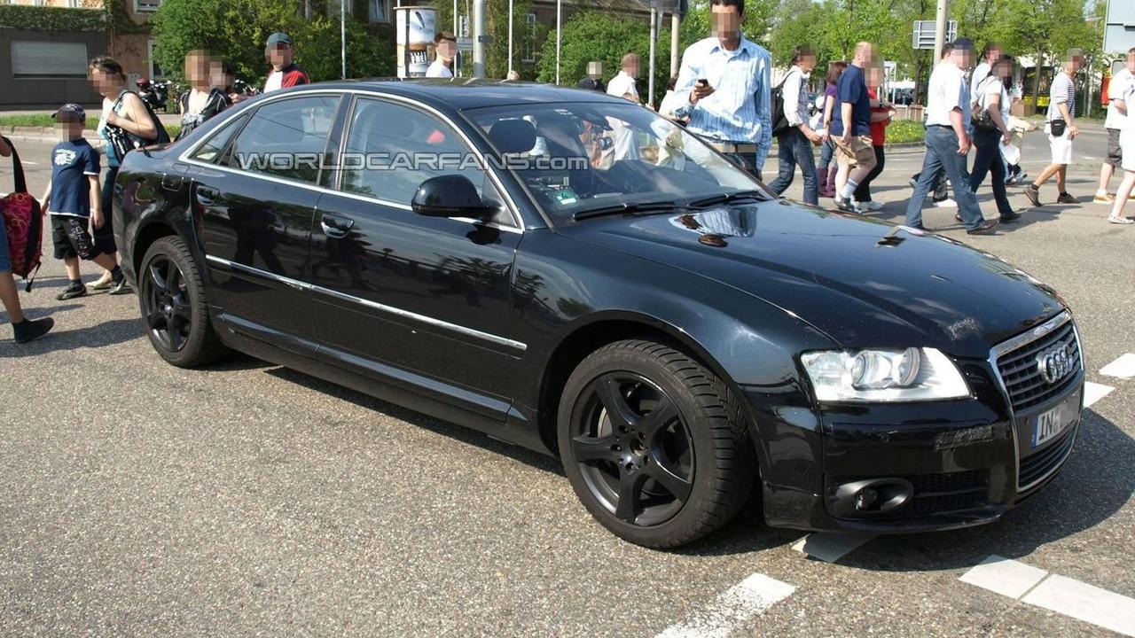 Next Generation Audi A8 Test Mule