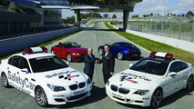 BMW Safety Cars with Z4 M Roadster and Coupe