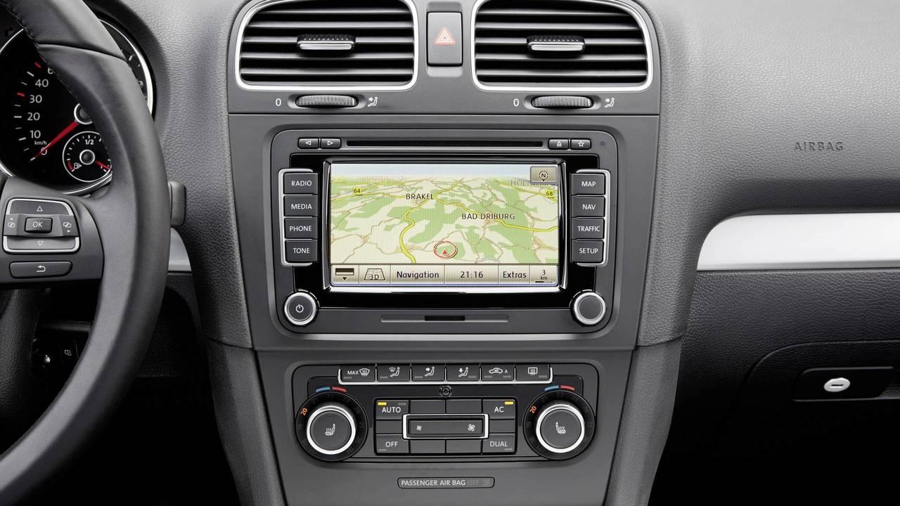 VW Golf VI radio