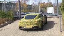 2018 Aston Martin Vantage Spy Photos