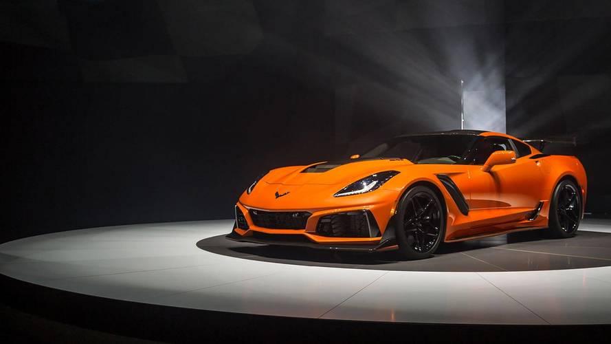 El primer Corvette ZR1 2018, subastado por casi un millón de dólares