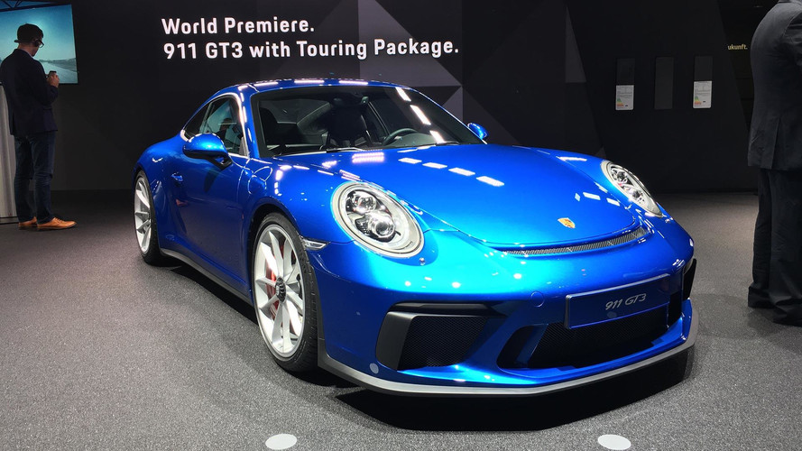 Porsche 911 GT3 Touring Package Hides 494 HP Under Smooth Tail
