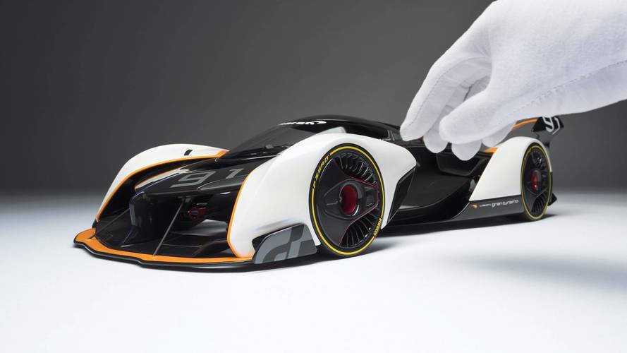 McLaren Ultimate Vision GT Scale Model