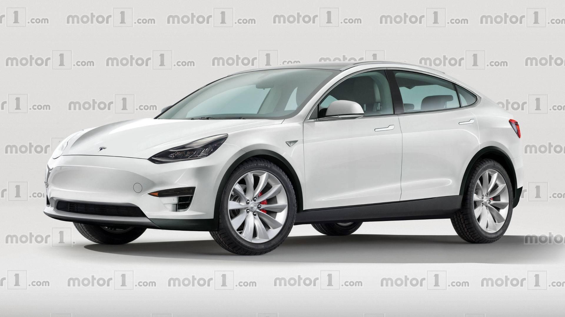 Tesla Model Y Facebook: Tesla Model Y Rendering Previews Future EV Bestseller