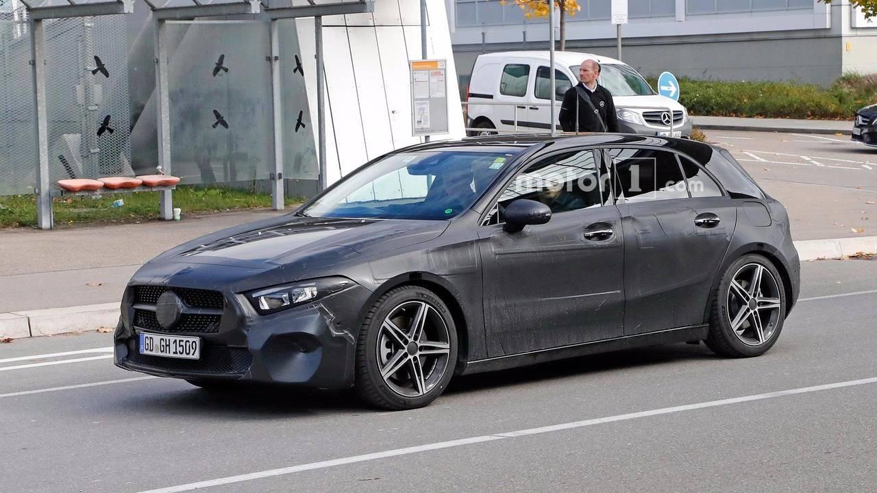 2018 Mercedes-Benz A-Class Spy Photos