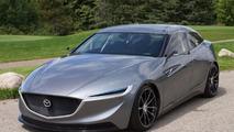 Mazda Deep Orange 3 concept unveiled