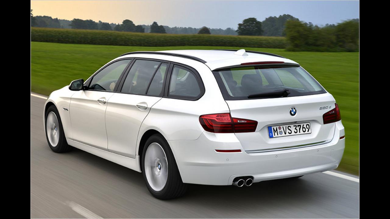 Platz 6: BMW 5er