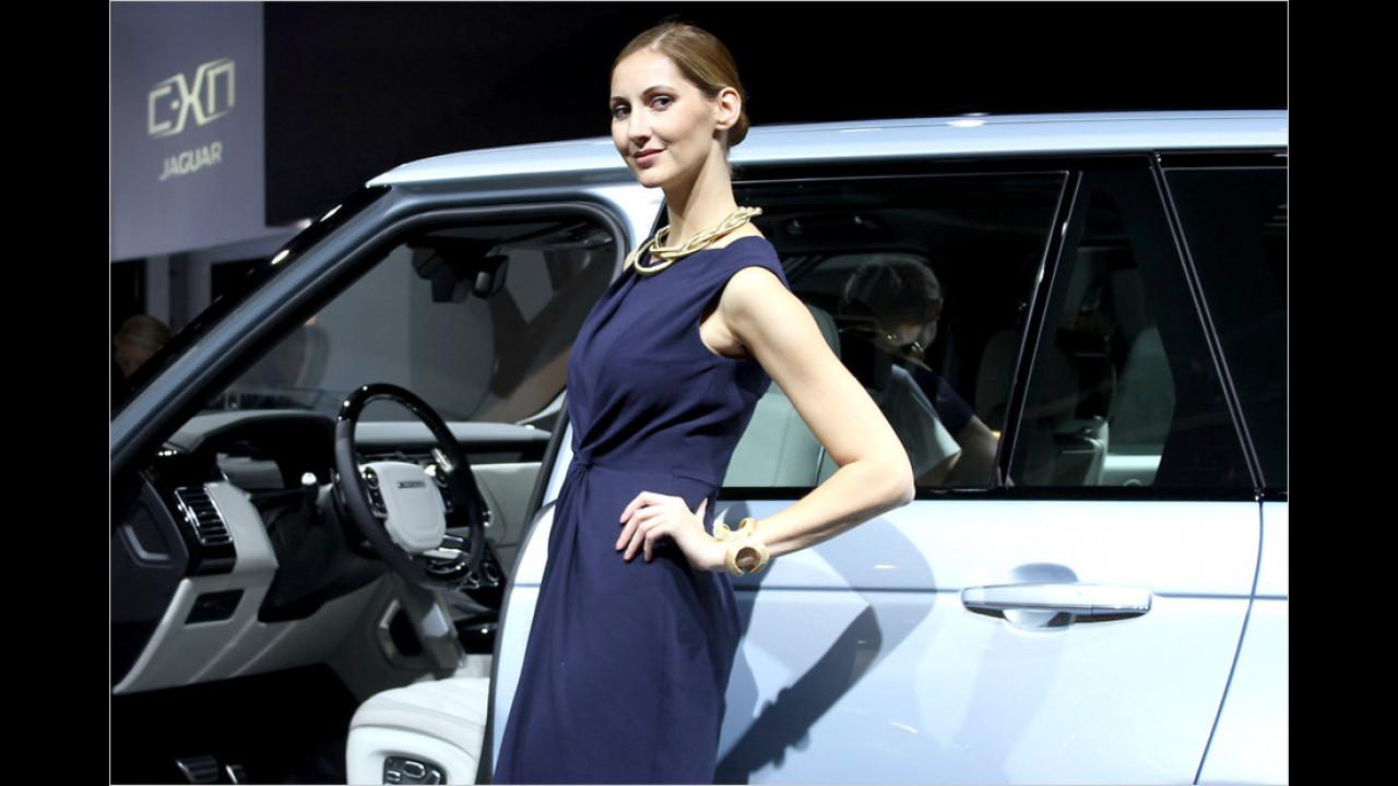 Ah, der neue Range Rover. Dürfen wir da mal einsteigen?