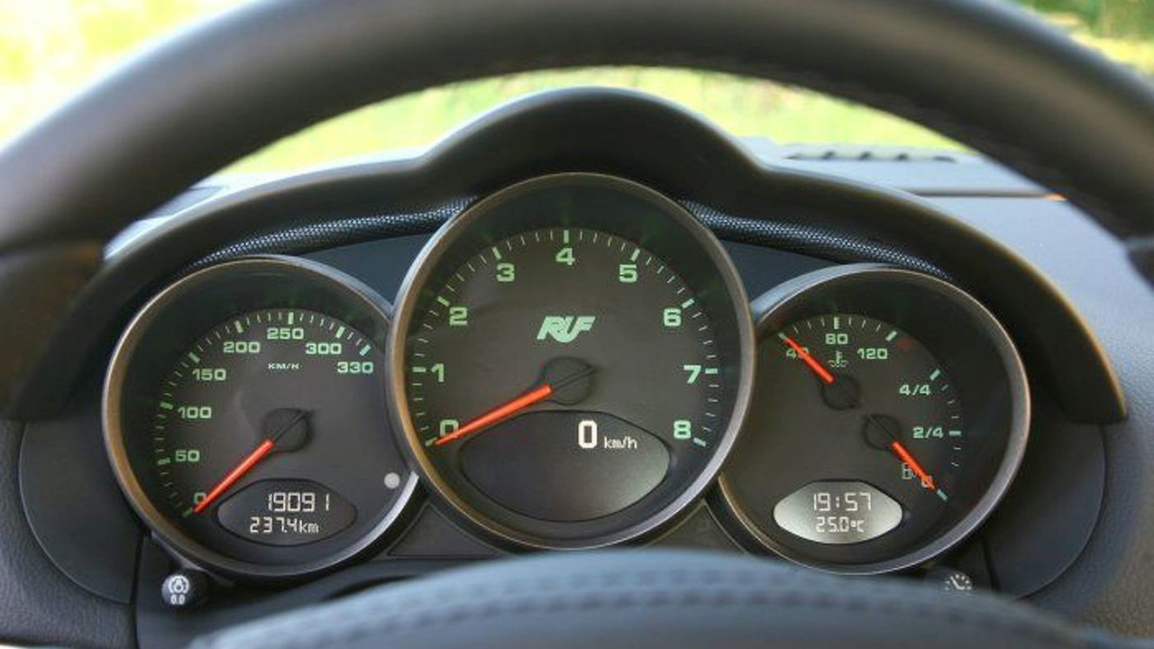 RUF 3400K 25th Anniversary Edition instrument panel