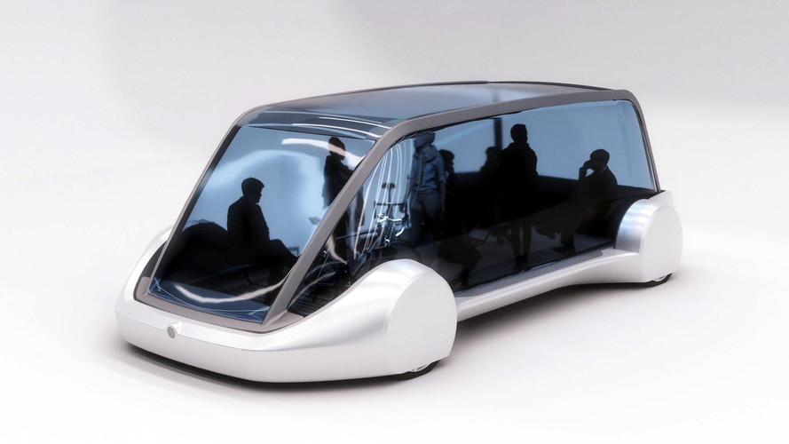Boring Company Releases First Photos Of EV Passenger Shuttle
