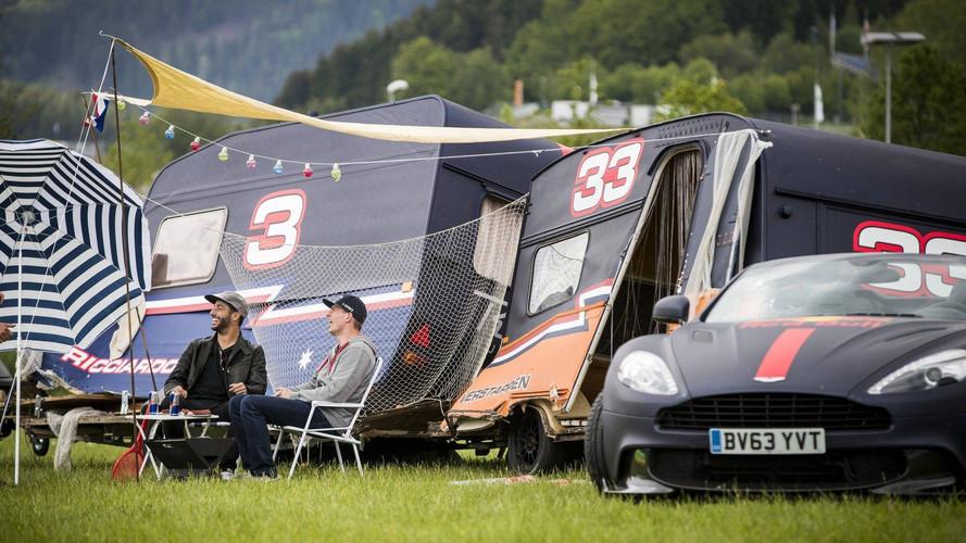 Red Bull Racing, carrera de caravanas