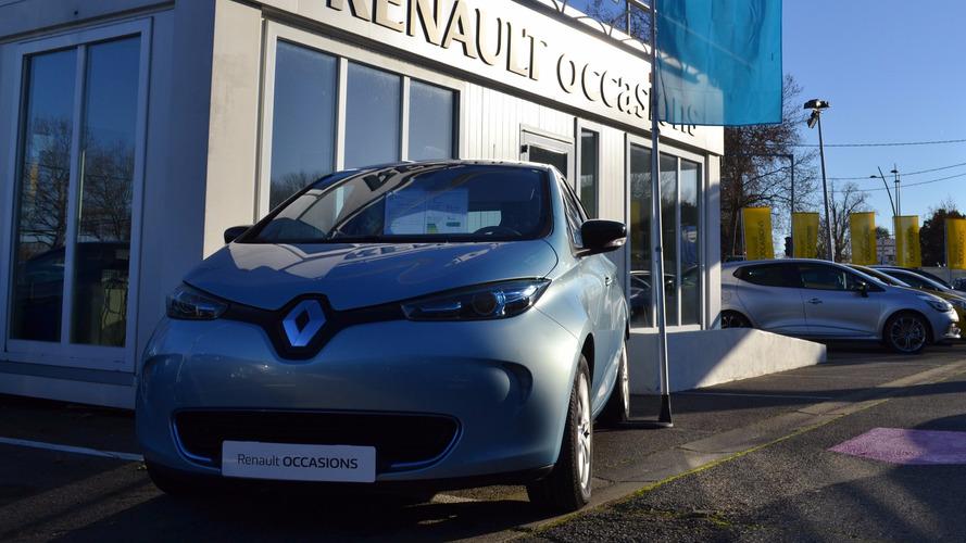 Une offre spéciale pour les modèles d'occasion — Renault Zoé