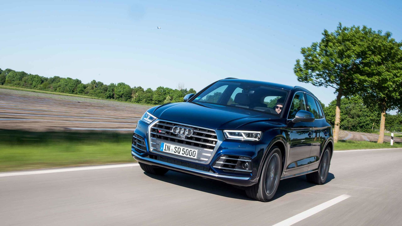 First drive of the Audi SQ5 TFSI