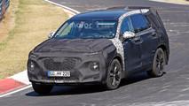 Hyundai Santa Fe Nurburgring photos espion