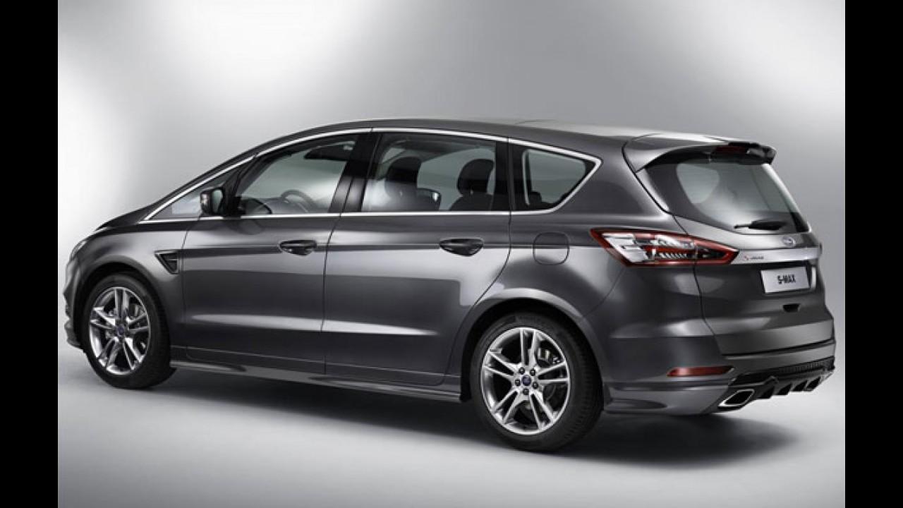 Genebra: Ford S-MAX ganha versão top com motor EcoBoost de 160 cv