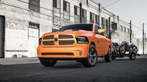 2017 Ram 1500 Rebel Mojave Sand and Ignition Orange Sport