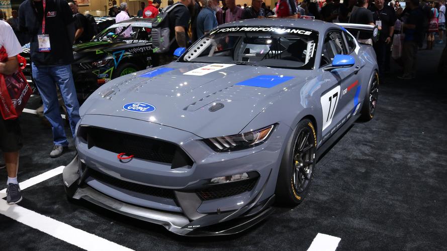 SEMA Show 2016 - Ford dévoile la Mustang GT4 !