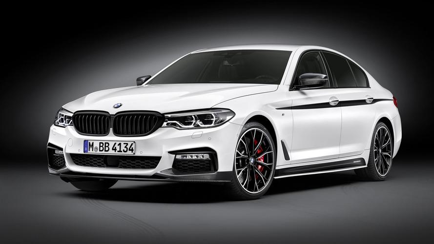 BMW, yeni 5 Serisini M Performance dokunuşlarıyla renklendiriyor