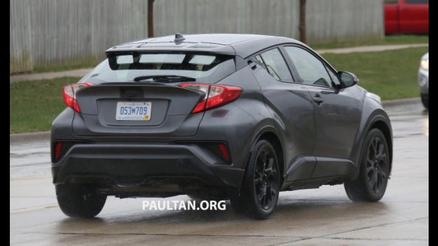 Flagra: Toyota C-HR já testa motor de Corolla em versão para as Américas