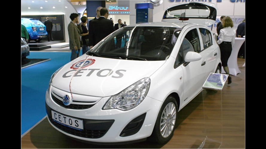 Cetos von German E-Cars auf der IAA