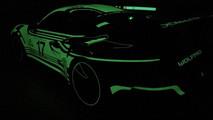 Porsche 911 Glowing Wrap
