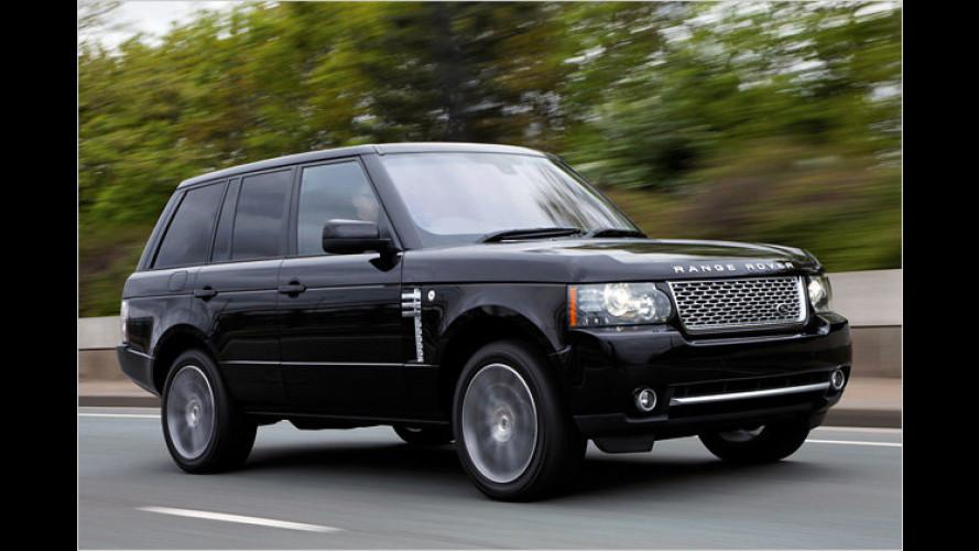 Land Rover Range Rover: Sondermodell zum Vierzigsten