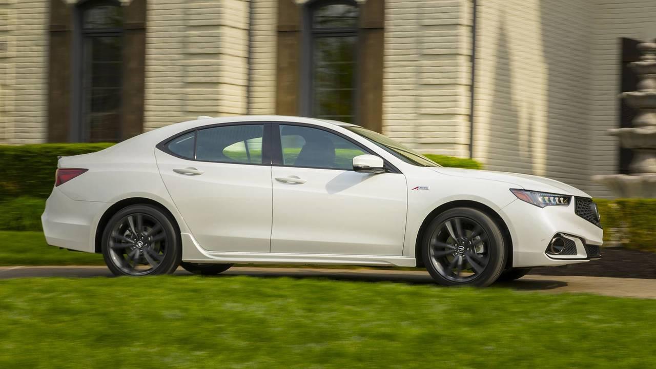 Acura TLX – Precision All-Wheel Steer (P-AWS)