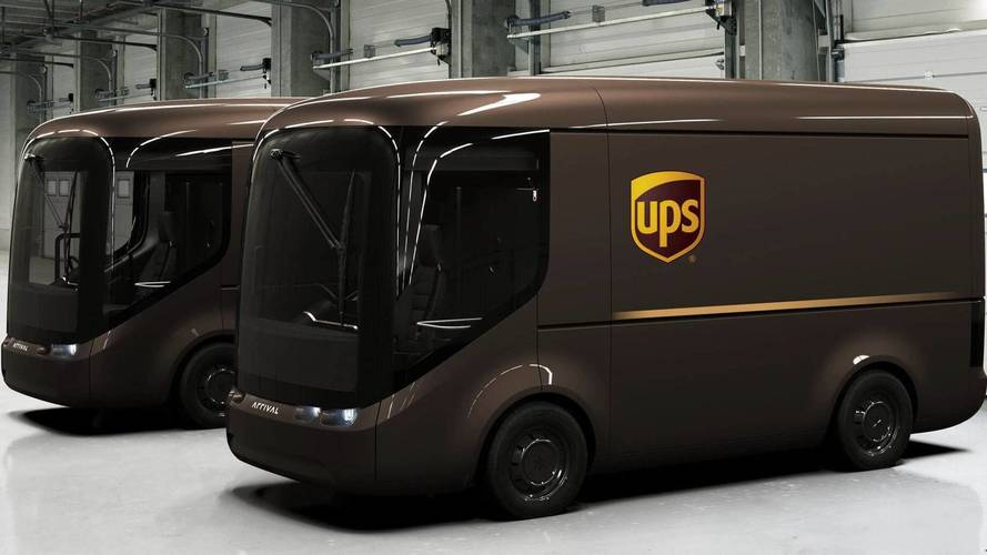 UPS is trialling these cool electric vans in London