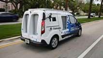 Ford Transit Connect Autonomous Test Vehicle