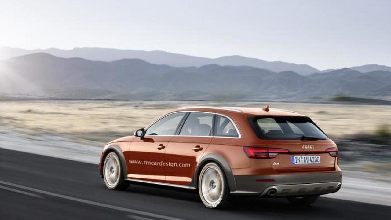 2016 Audi A4 allroad quattro render