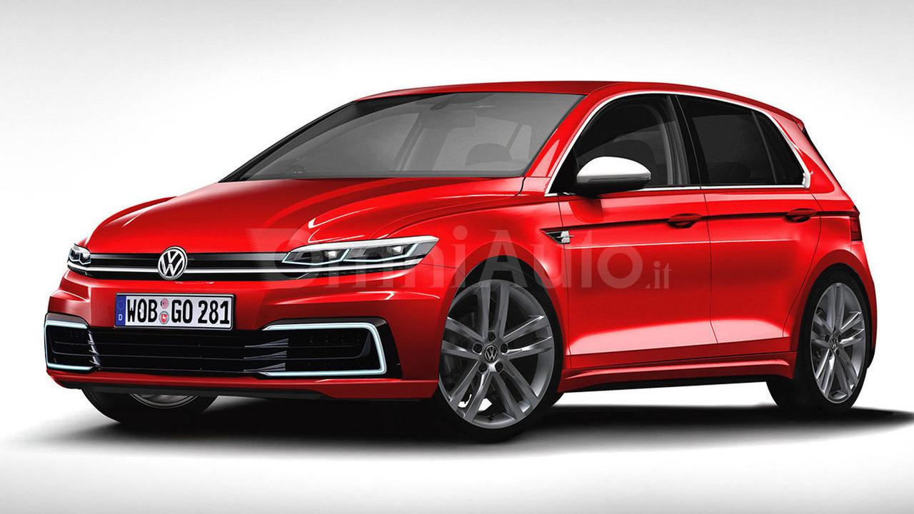 2017 Volkswagen Golf rendering