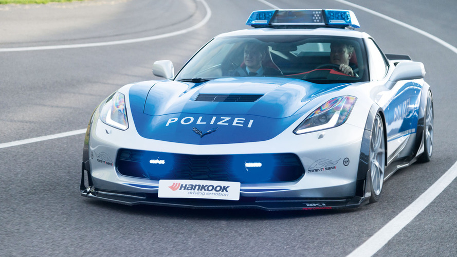 TUNE IT! SAFE! Chevrolet Corvette unveiled at Essen