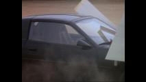 KITT supercar, Knight Rider, sul set
