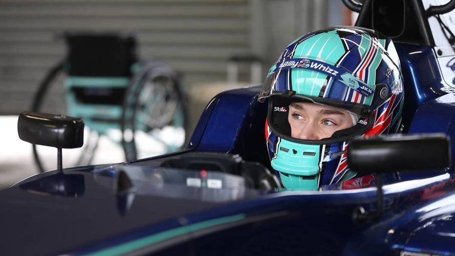 Billy Monger back in a racing car after horrific 2017 accident