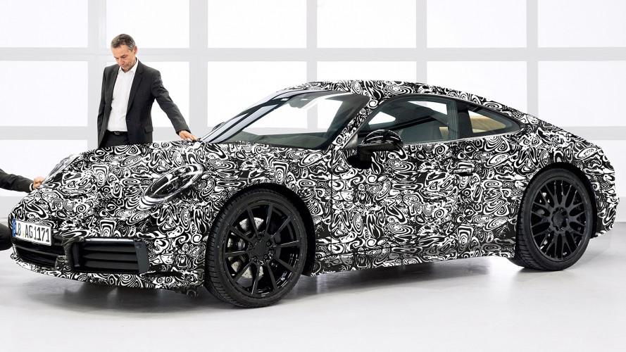 Nuova Porsche 911, sarà anche ibrida