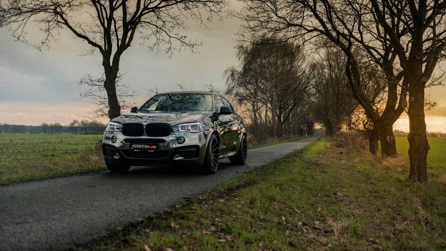 This BMW X6 M50d Makes The Coupe-SUV Even More Controversial