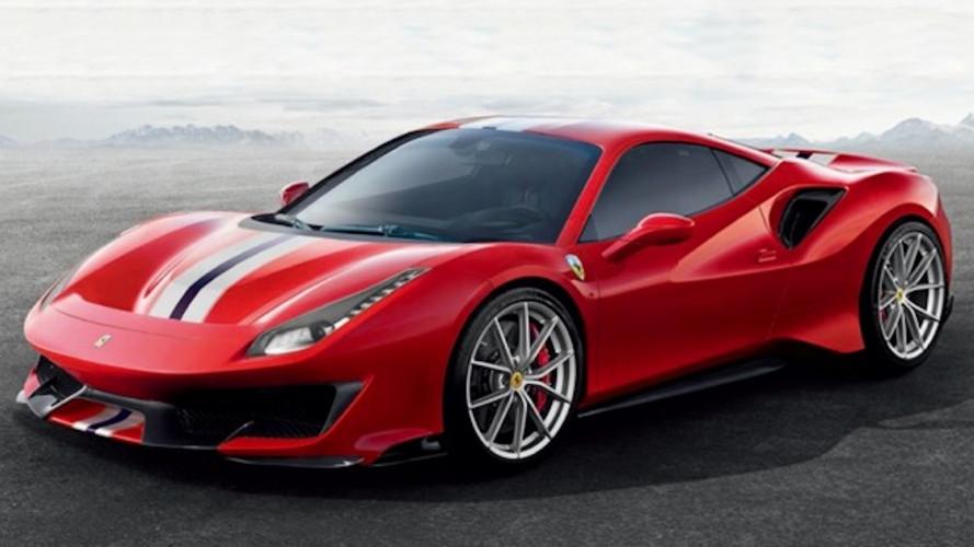 Ferrari 488 Pista, le prime foto sfuggite in rete