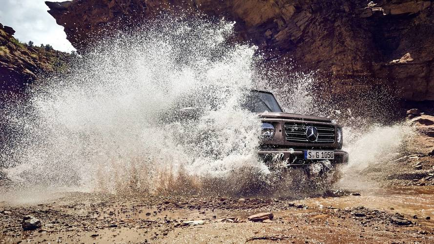 Mercedes G-Class Teased One Last Time Before Official Debut