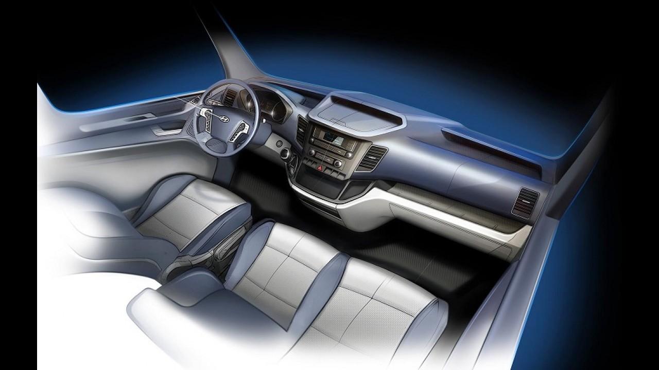 Hyundai prepara van H350 para brigar com Mercedes-Benz Sprinter
