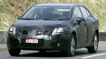 Toyota Avensis sedan spied again