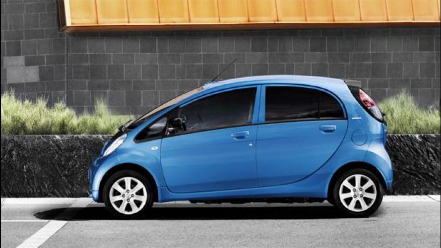 Mitsubishi, stop alla produzione delle auto elettriche PSA