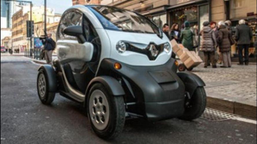 Renault Twizy Cargo, la prova delle consegne urbane