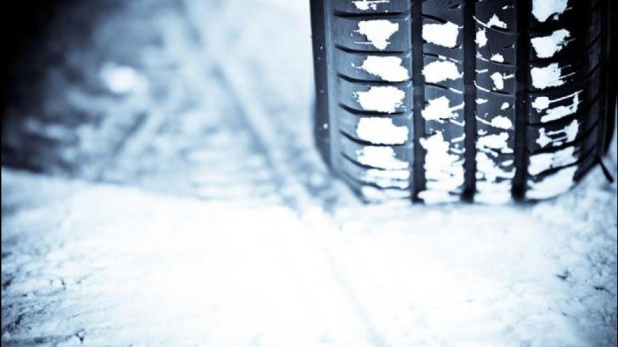 Gomme invernali e catene da neve, le sanzioni