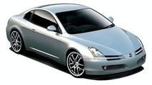 Artist rendering of new Nissan Silvia