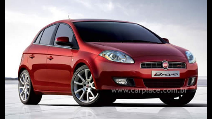 Novo Fiat Bravo deve ser lançado em fevereiro de 2009 no Brasil